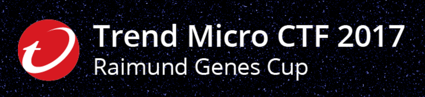 Trend Micro CTF 2017 - MISC 100 writeup