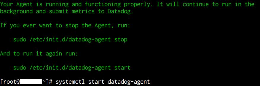 datadog-agentのインストール