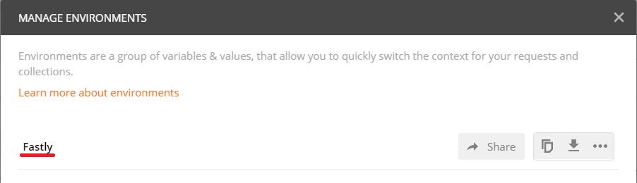 Fastlyのサービス設定を追加する