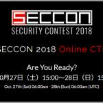 SECCON 2018 Online CTF Writeup